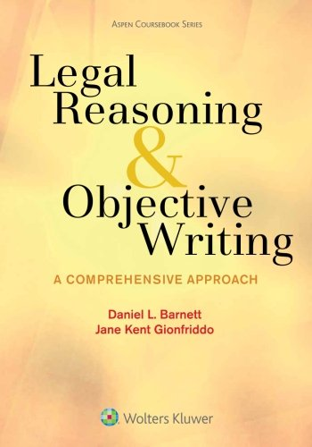Image OfLegal Reasoning And Objective Writing: A Comprehensive Approach (Aspen Coursebook)