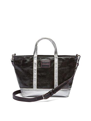Victoria Secret. , Damen Tote-Tasche Schwarz Schwarz XL