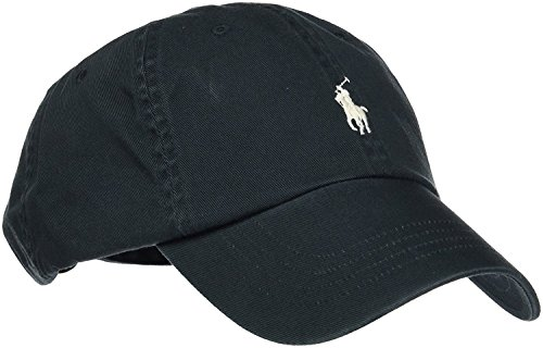 Polo Ralph Lauren Hut Klassische Herrenmütze Baseball Caps (Nero)
