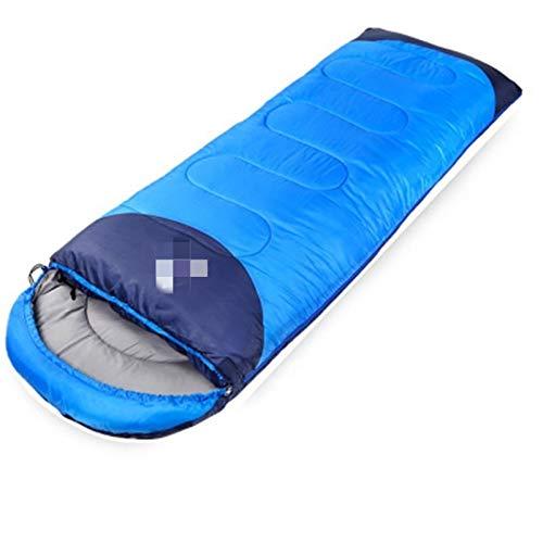 Tienda 3-4 persona Camping de campaña Campaña Campaña Dual Coloque Impermeable Anti UV Tiendas de Turística para Pesca Senderismo Playa Viajes 4 Tienda de temporada ( Color : Blue Sleeping Bag )