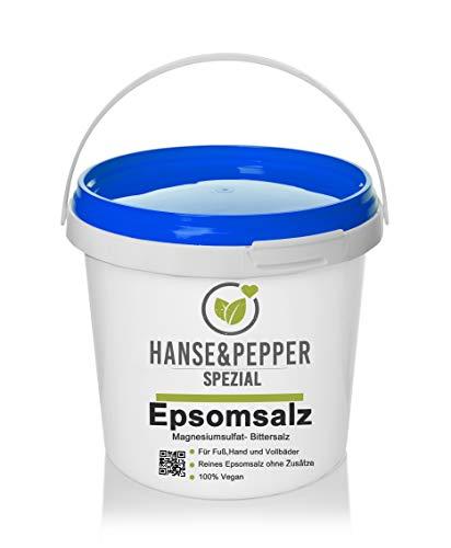 5kg Bittersalz Epsom Salz MgSO4 5kg Eimer - Greenline Serie