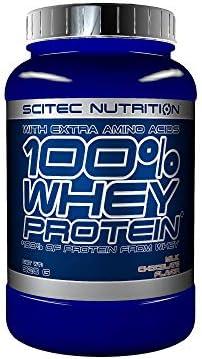 Scitec Nutrition 100% Whey Protein con aminoácidos adicionales, 2.35 kg, Fresa