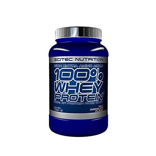Scitec Nutrition 100% Whey Protein con aminoácidos adicionales, 920 g, Chocolate Con leche
