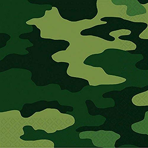 Amscan International Camouflage servetten