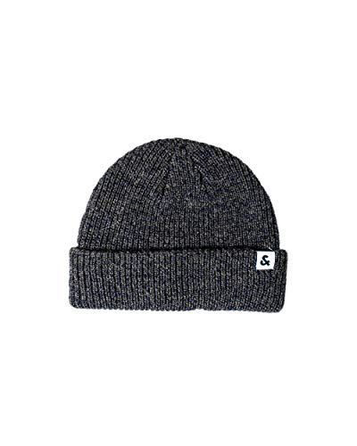 JACK JONES Twisted Knit 12158599 Chapeau pour homme - Vert - Taille Unique