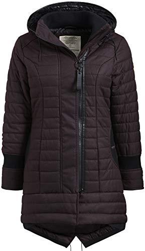 khujo Cayus2 Jacket 1130JK183-D06 Damen-Winterjacke Marsala Melange Gr. XXL