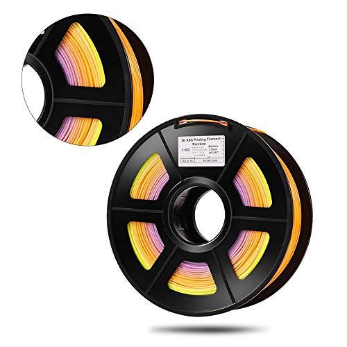 XuBaoFu, 2019 PLA Cambio de Color del Arco Iris 3D Material de ...