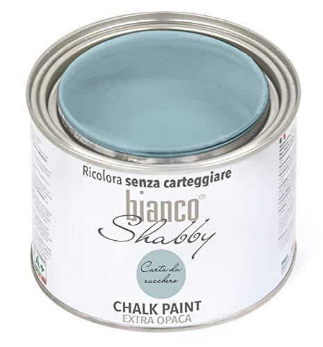 CHALK PAINT Carta da Zucchero Pittura Shabby Chic Vintage per Mobili e Pareti EXTRA OPACO (500 ml)