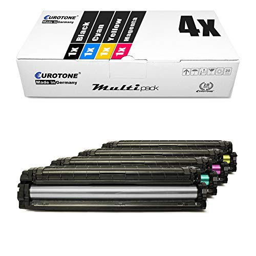 4X Müller Printware Toner für Samsung Xpress C 1810 1860 fw W Premium Line ersetzt CLT-504S
