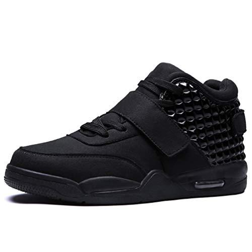Los Hombres de Baloncesto Zapatos de Alta Superior amortiguación atlética Zapatillas de Deporte Botas de los Hombres Entrenadores Deportivos