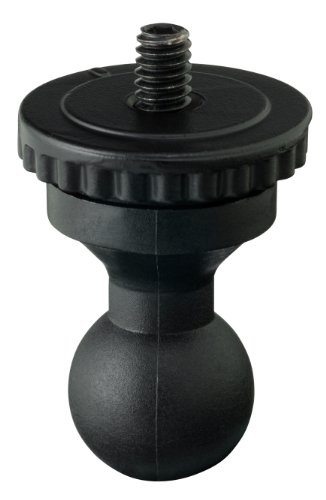 Contour Inc. Helmkamera Zubehör Waterproof Hülle Adapter, schwarz, 2801