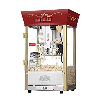 Great Northern Popcorn Red Matinee Movie Theater Style 8 oz Ounce Antique Popcorn Machine