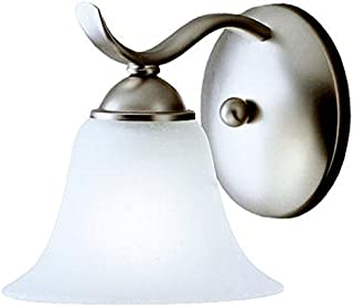 Kichler 6719NI Dover Wall Sconce 1-Light, Brushed Nickel