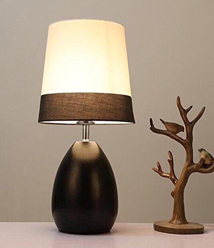 De lampen 49 x 24 cm, Yu-k zwart schemerschakelaar