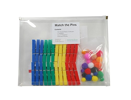 Keeping Busy Match The Pins Dementia and Alzheimer's Engaging Activities / Puzzles / Games for Older Adults