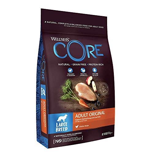 Wellness CORE Wellness Large Breed Original Dog Food Dry, Grain Free -...