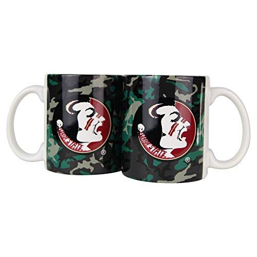 Boelter NCAA Camouflage Kaffeetasse, 325 ml, 2er-Pack, Florida State Seminoles