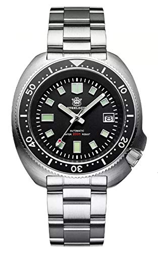 Steeldive SD1970 - Orologio subacqueo, 6105 Turtle Captain Willard, NH35,...