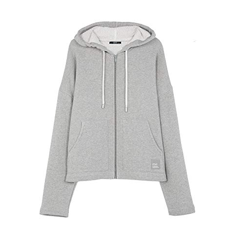 Parfois - Sudadera Stay Cool con Capucha - Mujeres - Tallas Única - Gris