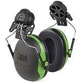 3M PELTOR Ear Muffs, Noise Protection, Hard Hat Attachment, NRR 21 dB, Construction, Manufacturing, Maintenance, Automotive, Woodworking, X1P3E
