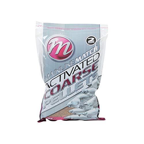 Mainline Match Activated Coarse Pellets 1kg 2mm MM3201 Pellet Karpfenpellets Stipp Pellet Futter