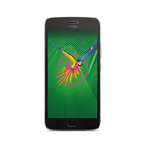 Lenovo Moto G5 Plus smartphone, Dual SIM, 32GB, 5,2 , 12 MP camera, Grigio lunare [versione Europa]
