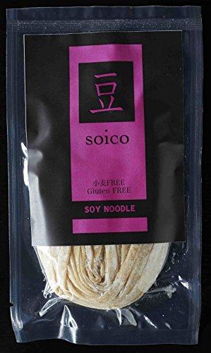24袋 soico(ソイコ)グルテンフリー 生パスタ・SOY NOODLE・大豆生麺【フェットチーネ】