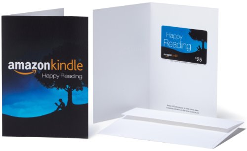 Amazon.com $25 Gift Card in a Greeting Card (Amazon Kindle Design). Buy it now for 25.00
