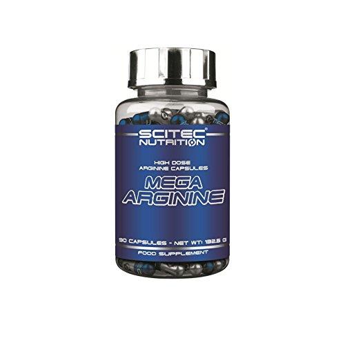 SCITEC Nutrition Mega Arginine - 90 caps.