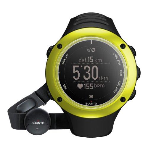 Suunto Unisex Sportuhr Ambit2 S HR, lime, S, SS019208000