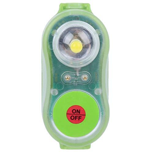 BOLORAMO Luz de Chaleco Salvavidas, lámpara de Chaleco Salvavidas Rentable con Apariencia novedosa para Piscina para Chaleco Salvavidas(Azul)