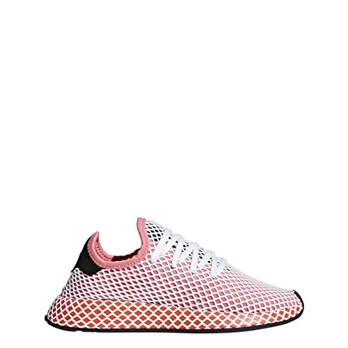 adidas Womens W DEERUPT Runner CHAPNK/Borang, Chalk Pink / Chalk Pink-orange, 7.5