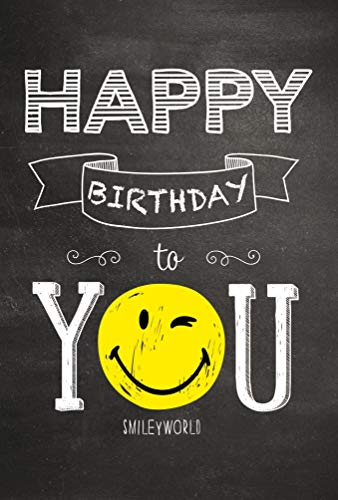 bsb Tarjeta de felicitación de cumpleaños con texto en ing