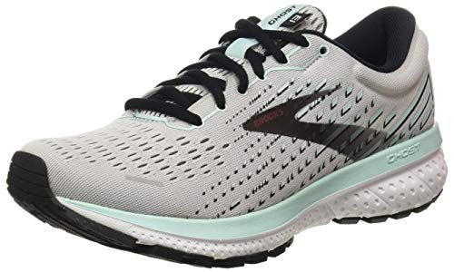 Brooks Damen Ghost 13 Laufschuh, Grey Atlantis Black, 41 EU