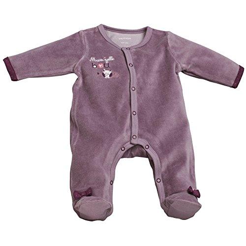 Pyjama bébé violet naissance Mam'zelle Bou - Sauthon