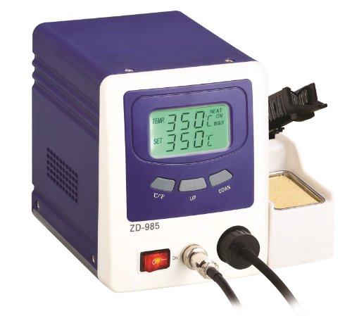 Vacuum Desoldering Rework Station Digital Temperature Controlled Dual LCD