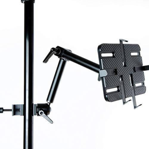 Infuu Holders Stabile Halterung für iPad Galaxy Tab Note Tablet-PC für Rollstuhl Tisch Rohr Stuhl Bett Regal Ergometer 141