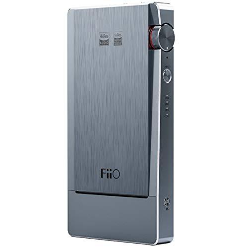 ZEIYUQI FiiO Q5S Amplificatore di Decodifica Bluetooth 5.0 all-in-One, 3.5mmPO/2.5mmBL/4.4mmBL,Type-C DAC DSD256 PCM 768kHz/32bit Amplificatore di Potenza per Cuffie Bilanciato HiFi Portatile