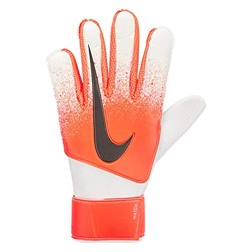 Nike Match Goalkeeper Gloves (Orange/White/Black, 11)