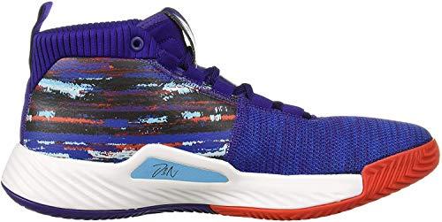 adidas Men's Dame 5 Basketball Shoe, Collegiate Purple/Collegiate...