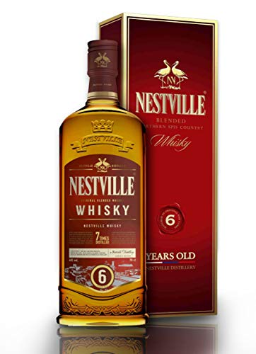 Presentation Box Whisky Nestville (Oak Barrels 6 Years Old Whisky Limited Edition in the Box…)