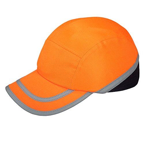 Viwanda Orange Anstoßkappe / Sicherheitskappe mit ABS-Schale