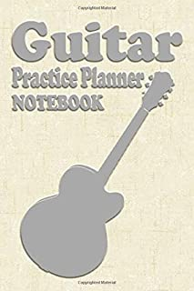 Guitar Practice Planner: hal leonard corp creator,standard wirebound mcript paper green cover,guitarist composer songwrite...