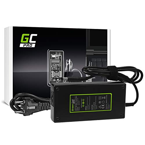 GC PRO Netzteil für Dell Latitude E5510 E7240 E7440 Alienware 13 14 15 M14x M15x R1 R2 R3 Laptop Ladegerät inkl. Stromkabel (19.5V 9.23A 180W)