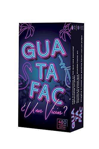 GUATAFAC Unos Vicios – Segunda edición del Juego de Mesa y Cartas para Fiestas y Risas – Español 🔥