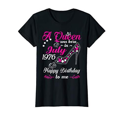 Damen 44. Geburtstag 44 Jahre Jahrgang 1976 Juli Beste Legendär T-Shirt