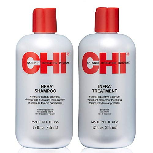CHI Infra Shampoo and Treatment Duo 12 oz
