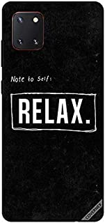 Protective Case Cover For Samsung Galaxy Note10 Lite Note To Self Relax