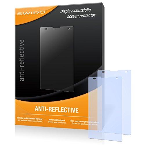 SWIDO Bildschirmschutz für Huawei Honor 3C [4 Stück] Anti-Reflex MATT Entspiegelnd, Hoher Festigkeitgrad, Schutz vor Kratzer/Glasfolie, Schutzfolie, Bildschirmschutzfolie, Panzerglas Folie