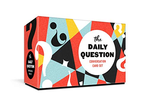 The Daily Question Conversation Card Set: 100 Meaningful Questions to Start Discussions Around the Table or Anywhere: Card Games